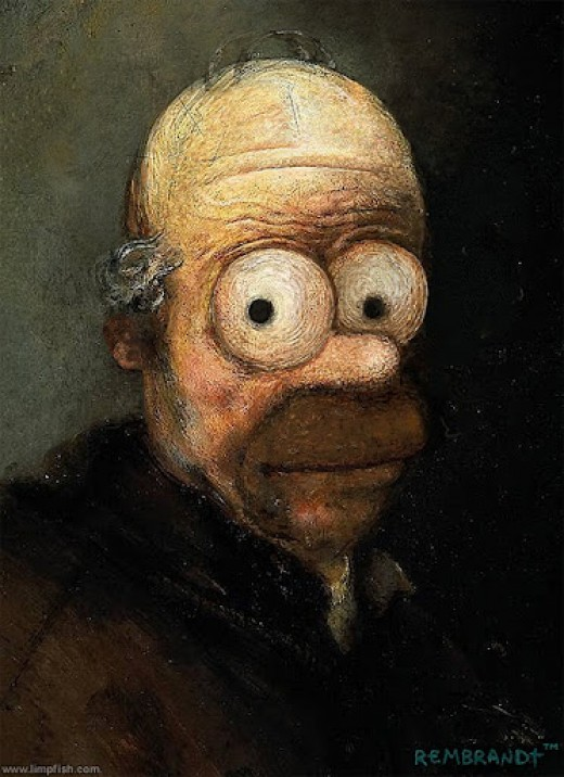 Is this the only portrait of the deftly named Rembrandt Q. Einstein?
