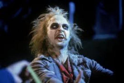 Michael Keaton as the insane Bio-Exorcist, Beetlejuice