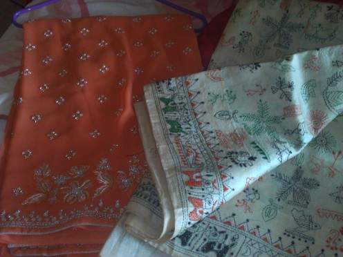 The beaded saree and the Bengali Kaantha
