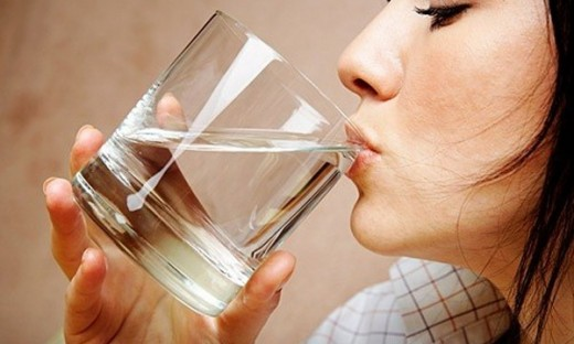#8: Drink sips of water frequently.
