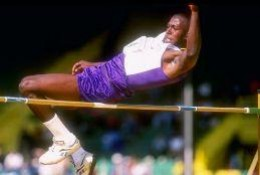 Donald was also a celebrated high jumper in college.  He could have joined the 2000 Olympic Team if he had not signed with the Packers in 1999.