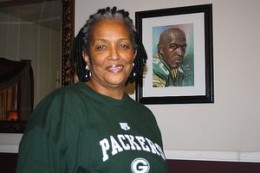 Donald's mother Faye Gray is president of the Donald Driver Foundation