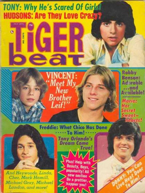 """ACTUALLY, WE GUYS WHO FORMED """"THE LIGHTNING DOGS,"""" DIDN'T CARE ABOUT LEIF GARRETT'S PANT SIZE. WE JUST WANTED PUBLICITY. AND GIRLS."""