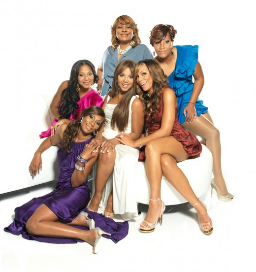 The Cast of Braxton Family Values