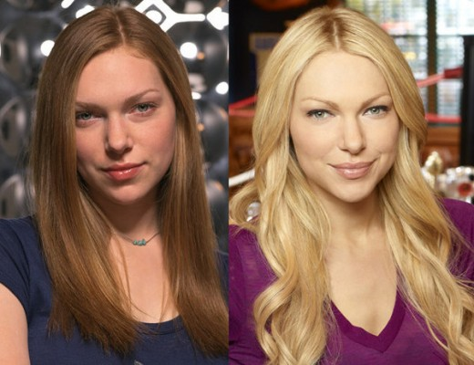 Laura Prepon, during the show and now