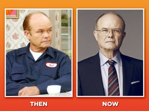 Kurtwood Smith, during the show and now