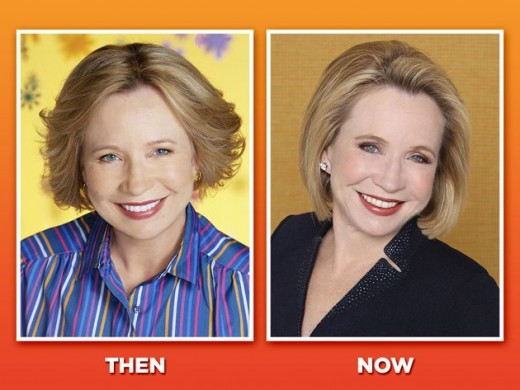 Debra Jo Rupp, during the show and now