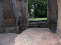 Location where the Shiva Lingum would have been.