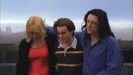 Lisa, Denny and Johnny in a heart-wrenching scene from The Room.