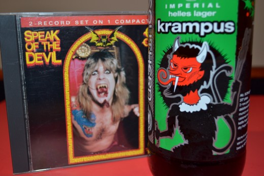 Ozzy and Krampus, Old pub mates?
