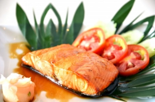 Salmon is a lean protein that is great for any meal of the day.