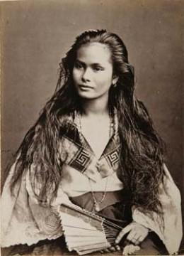 Filipina circa 1875