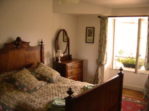 Bed and breakfast near Rochechouart. We also have a three star gite hich sleeps 7 people in three, ensuite bedrooms.