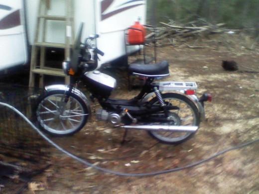 My 1978 Kromag/Puch Free Spirit now