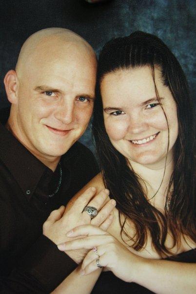 Me and my wonderful husband 2009