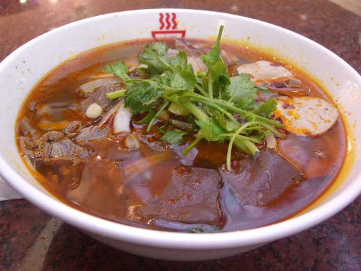 Bun Bo Hue (Vietnamese Hue Spicy Beef Noodle Soup)