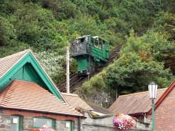 Lynton & Lynmouth funicular railroad