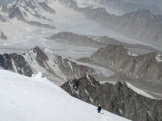 Climbing Koh-e-bah