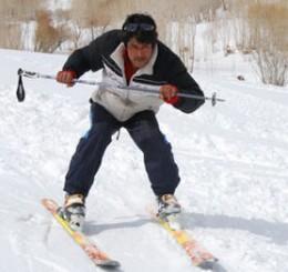 Afghan ski competitor