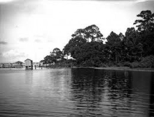 Prior to August 17th, 1969, Back Bay was a quiet body of water with piers, boat slips and fishing spots.