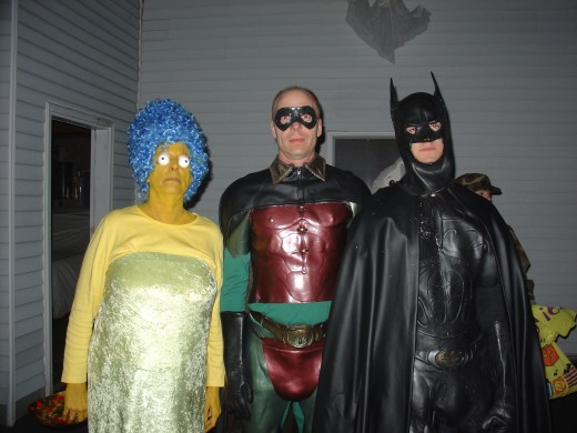 Robin's taller than Batman?