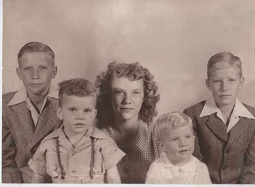 My mother and her brothers
