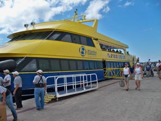 UltraMar ferry from Playa del Carmen to Cozumel