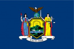 State flag of New York
