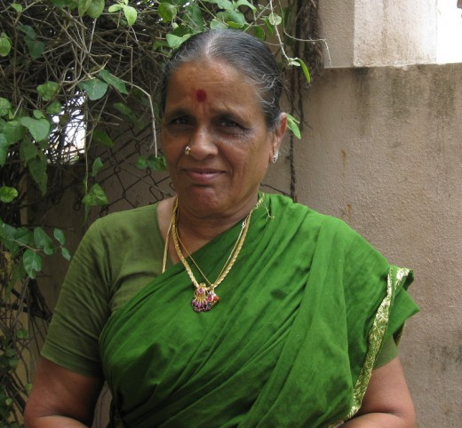 Grandma Rajalakshmi who is an embodiment of love and affection