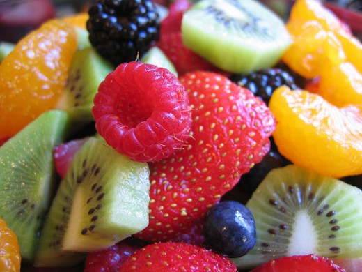 Fresh or frozen fruits and berries make for a great smoothie or thickshake