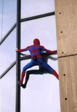 Alain Robert aka Spiderman