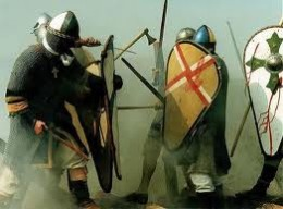 Battling it out with the Danes at the time of Aethelred and Eadmund 'Ironside'