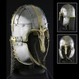 The Coppergate Anglian helm, fit for an ealdorman or earl - was this being completed when the Normans set fire to the houses in York in AD1069?