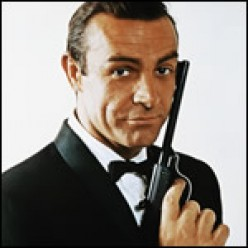 SEAN CONNERY, WITHOUT QUESTION, WILL ALWAYS BE THE COOL, SUAVE, CONFIDENT SPY-PLAYBOY, JAMES BOND, 007.