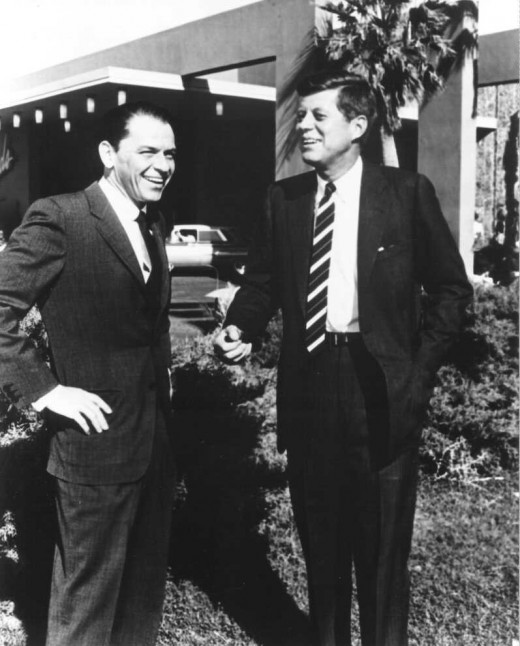 Sinatra With President Kennedy