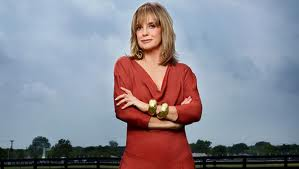Linda Gray as Sue Ellen Ewing