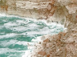 The Dead Sea - A sea known for its salt.