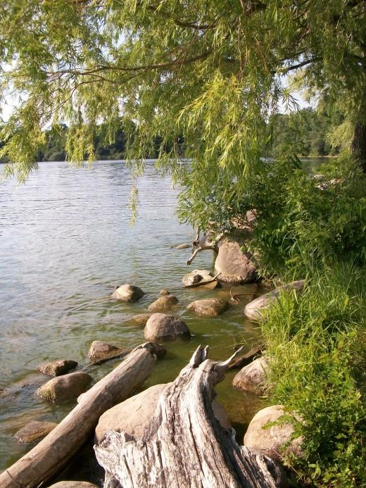 Lake Michigan. Finally giving me a sense of peace.