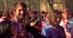 Will you be celebrating Holi? The festival of colors.
