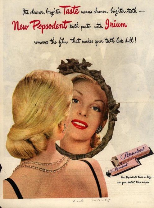 A 1946 Pepsodent advertisment