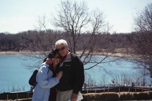 Us, at Cape Cod, Massachusetts