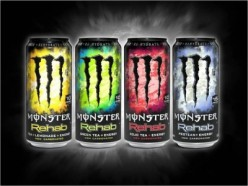 Energy Drink Review: Monster Rehab Tea + lemonade
