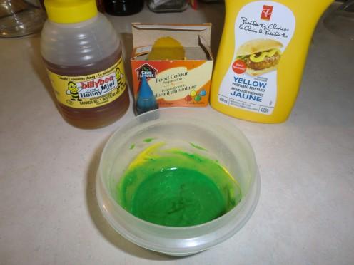 Green Honey Mustard Mixture!