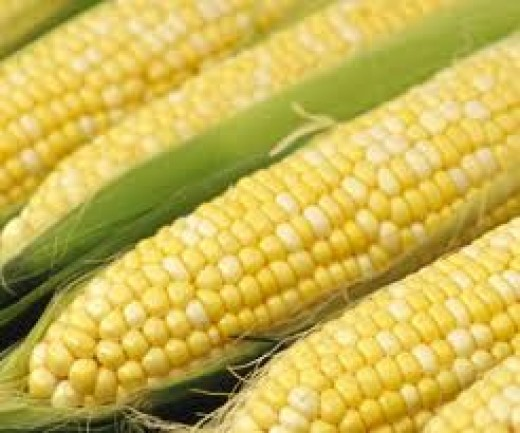 Corn is another starchy food.