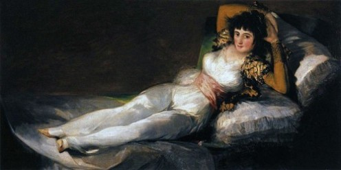 The clothed Maja: A source of inspiration for Granados mesmerizing piano suite the  'Goyescas'