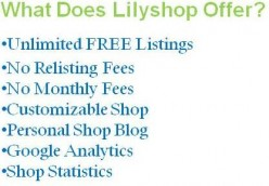Lilyshop - Free Online Marketplace | Great Place to Sell Handmade Crafts/Goods