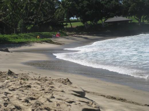 Mauna Kea Beach in Waikoloa, Hawaii