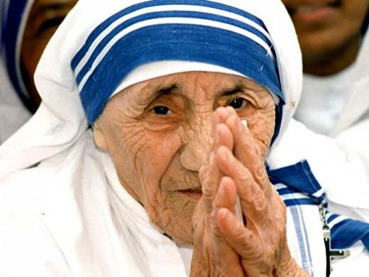 Beautiful 'Mother Teresa'