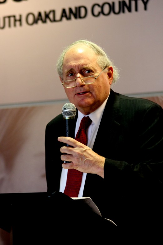 U.S. Senator Carl Levin, Chairman of Senate Defense Committee