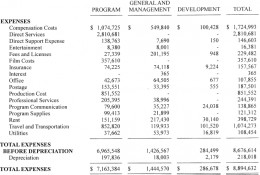 2011 financial report for Invisible Children Inc